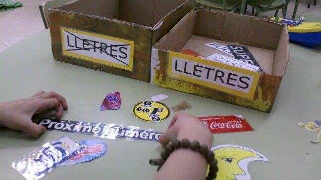 Capsa de lletres i no lletres