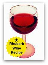 How to Make Rhubarb Wine - GREAT RECIPE FOR HOW TO MAKE WINE WITH RHUBARB!