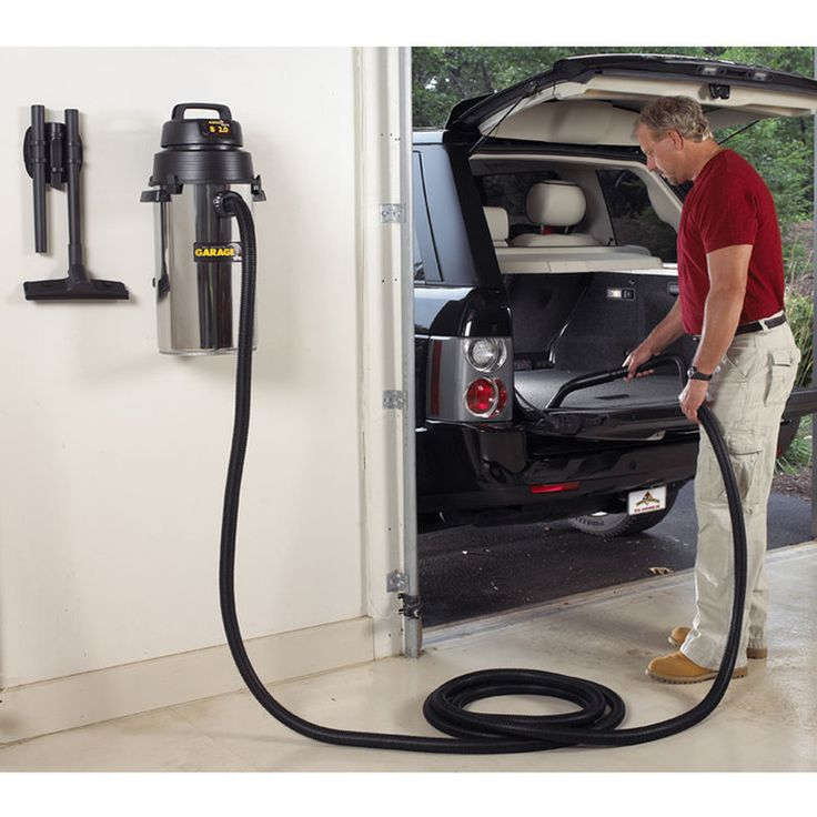 8 gallon wall mount garage vac with images garage