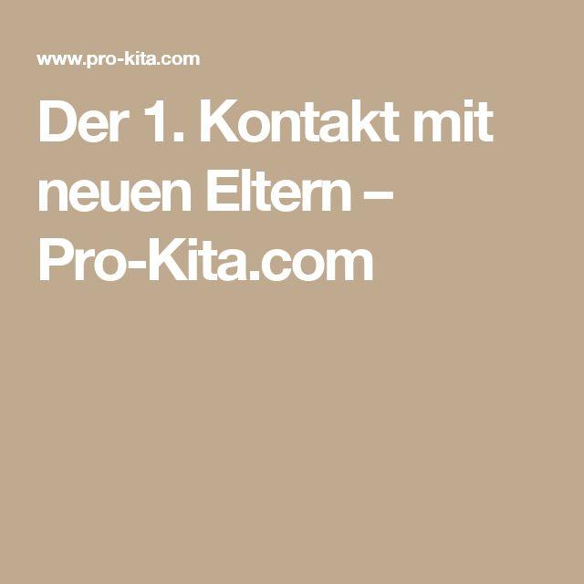 Der 1. Kontakt mit neuen Eltern – Pro-Kita.com