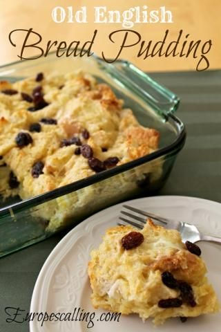 English Bread Pudding