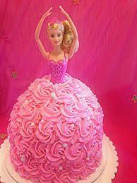 #barbie #strawberry #cute #girls #kids #1st birthday #creammy #vanila base