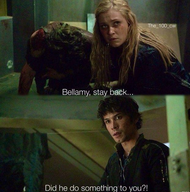 Bellarke scenes: I am become death II Bellamy Blake and Clarke Griffin. II The 100