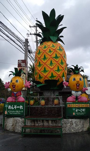 Nago Pineapple Park, Nago, Okinawa, Japan- one of my favorite places in Okinawa