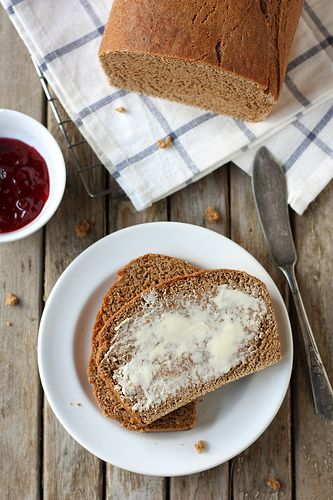 100% Whole Wheat Bread by Completely Delicious, via Flickr