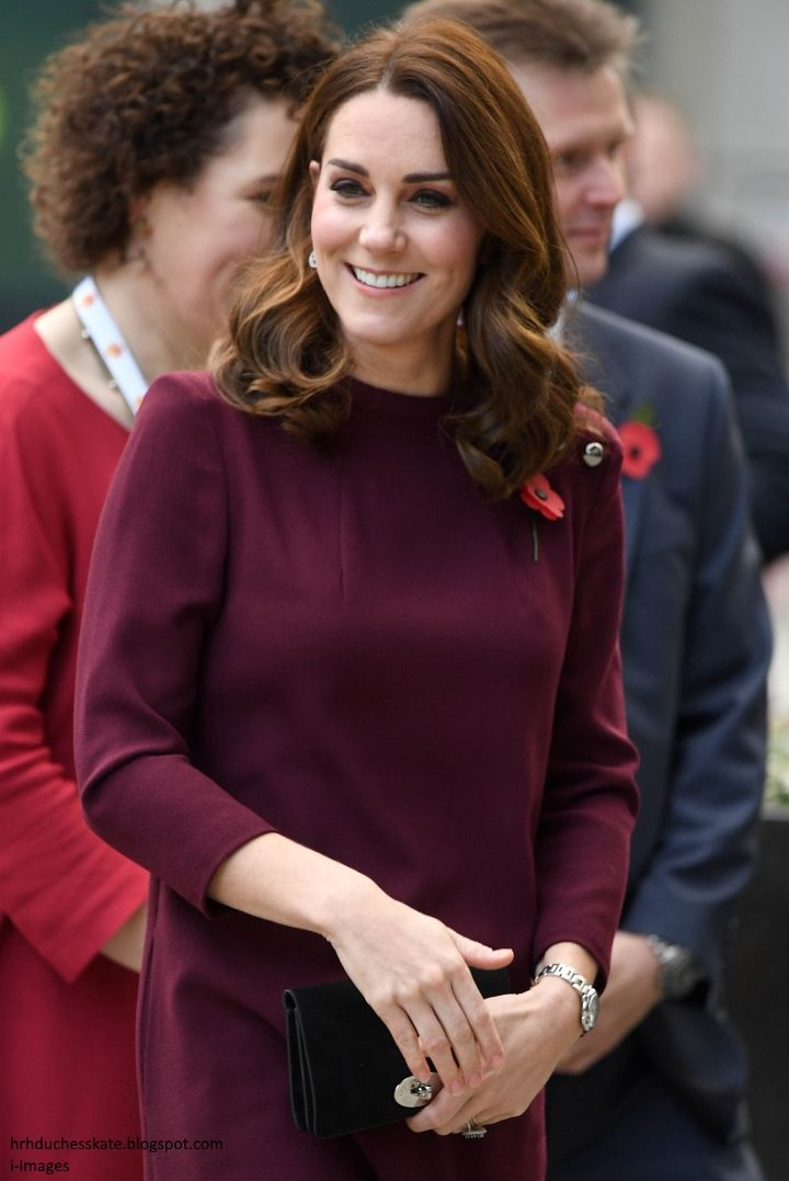 Duchess Kate: Kate Reveals She's Still Adjusting to Leaving George at the School Gates During Place2Be School Leaders Forum!