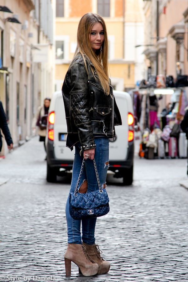 Street Fashion & Street Style – City Chic In Rome «