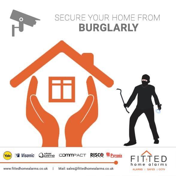 Secure Your Home From Burglarly Burglar Alarm Wireless Alarm System Wireless Alarm