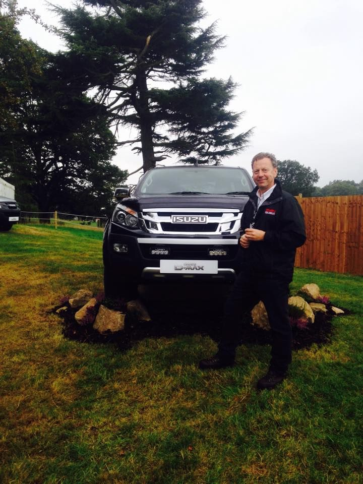 Jason Pickerill,Group Managing Director #isuzu