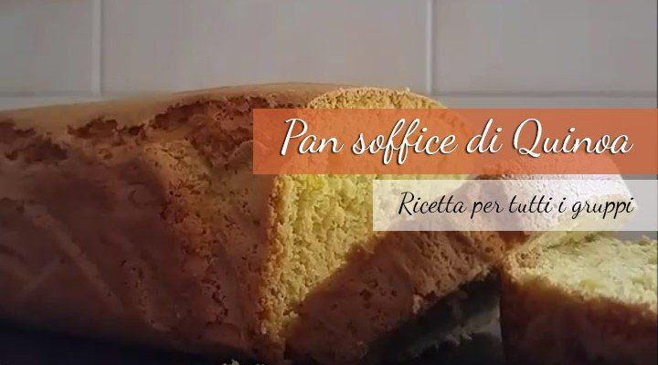 Pan soffice di quinoa