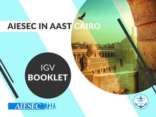 AIESEC AAST in Cairo IGV Winter Projects'16 Booklet