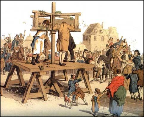 Stocks Are Devices Used For Torture Public Humiliation