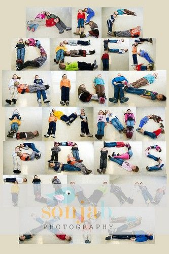 No, this isn't a bulletin board, but it would make an adorable classroom border/display and a fabulous project for your kiddos to help you with! We found the idea on Pinterest – the photo collage/idea can be credited to Sonja Photography – and just had to post it! All you need is a little time, a digital camera, and some willing kiddos to help you create!