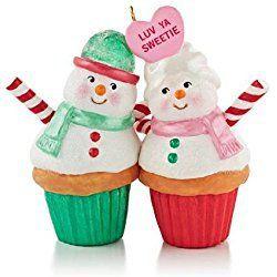A Couple Of Cupcakes 2013 Hallmark Christmas Cupcake Ornament
