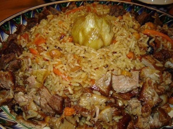 Самые вкусные рецепты: Плов (Узбекский плов)