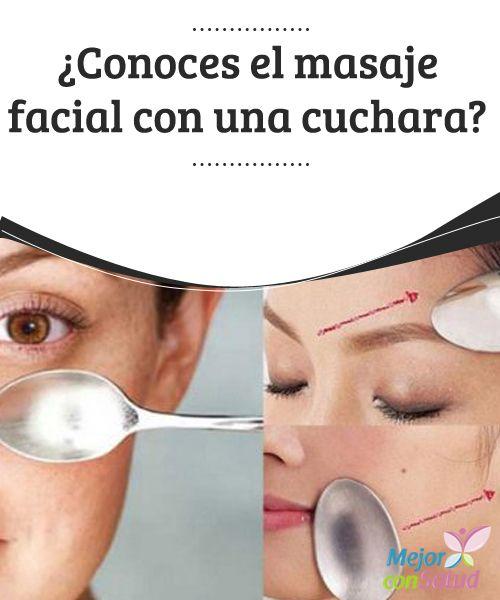 ¿Conoces el masaje facial con una cuchara? ¡Descubre sus increíbles efectos!  La mayoría de las mujeres buscan la manera de retrasar la aparición de los signos del envejecimiento.