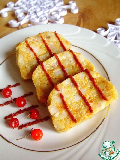 Рыбная колбаса на пару - кулинарный рецепт
