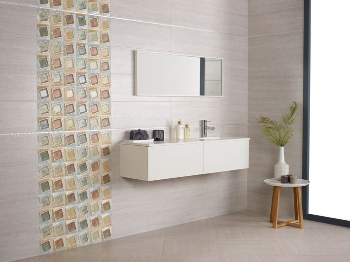 Brick Blanco, Decorado Brick Mix, Brick Gris floor tile