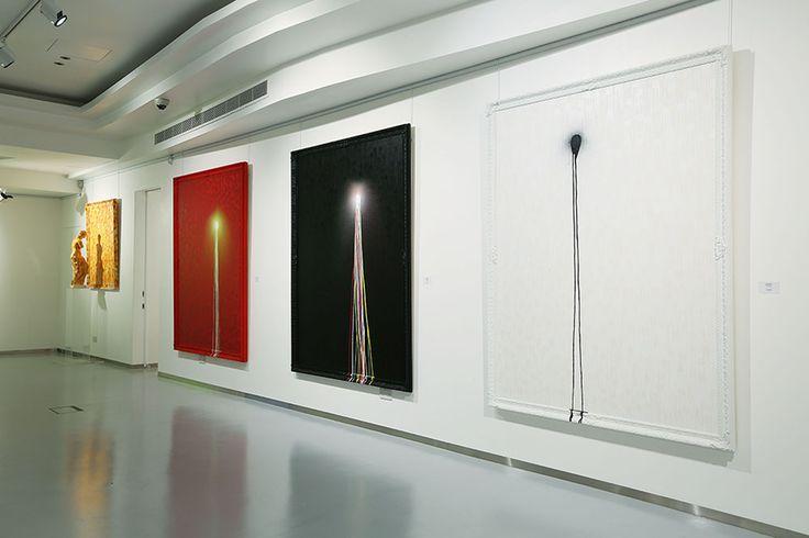 Omar Hassan, Breaking Through, Installation Shot 4, ContiniArtUK Gallery London