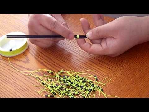 How to make a slip tie for a slip bobber - YouTube
