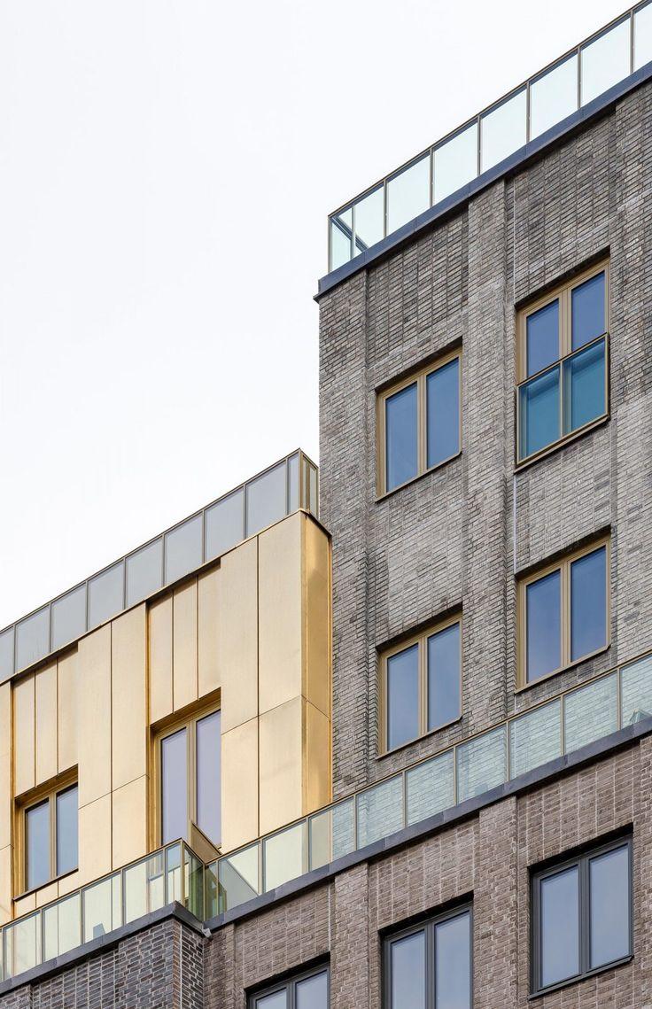 Kjellander Sjöberg - Etaget - Facade material