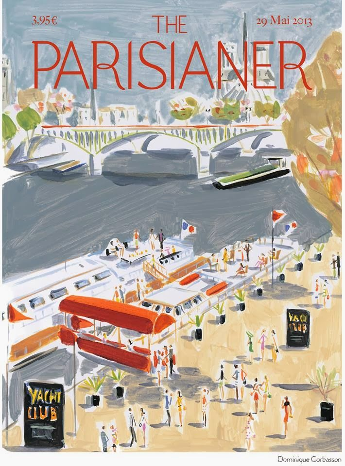 Dominique Corbasson. The Parisianer.