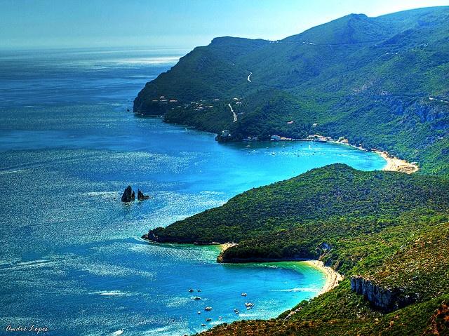 Arrábida Natural Park beaches @ Setúbal - Portugal