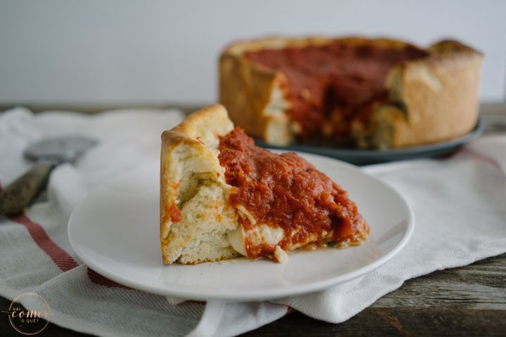 CHICAGO STYLE DEEP PIZZA
