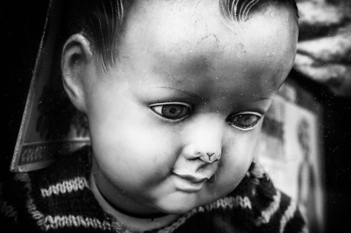 The Souls Of Dolls: Photos Of Abandoned Children Companions | Bored Panda. This one looks so sad to me. He really misses his playmate.