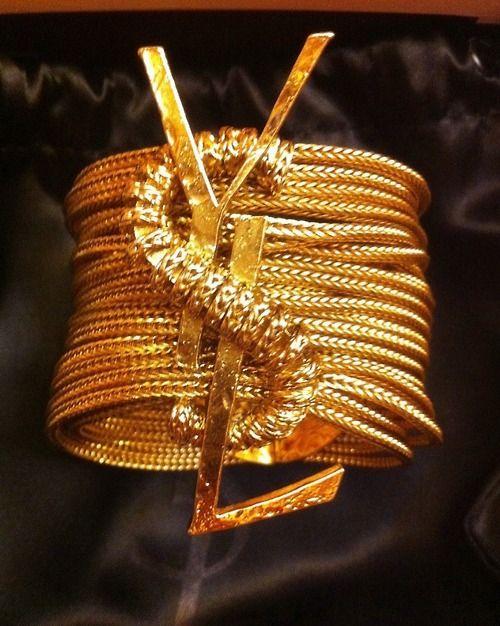 YSL Glam: Cuffs Bracelets, Celebrity Style, Yves Saint Laurent, Fashion Bracelets, Gold Bracelets, Ysl Bracelets, Stacking Bracelets, Fashion Accessories, Men Watches