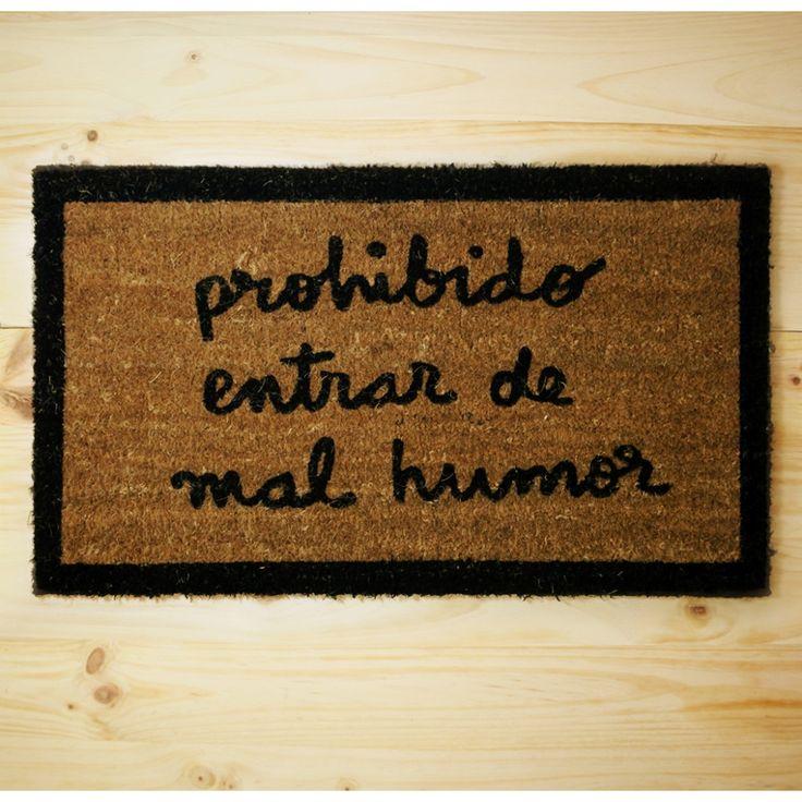 El felpudo en la decoración del hogar - http://www.decoora.com/el-felpudo-en-la-decoracion-del-hogar.html