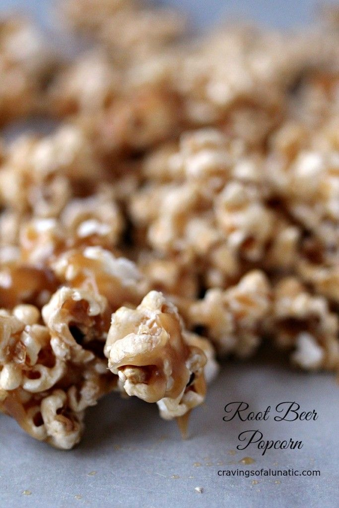 Root Beer Popcorn: Two movie night staples in one.