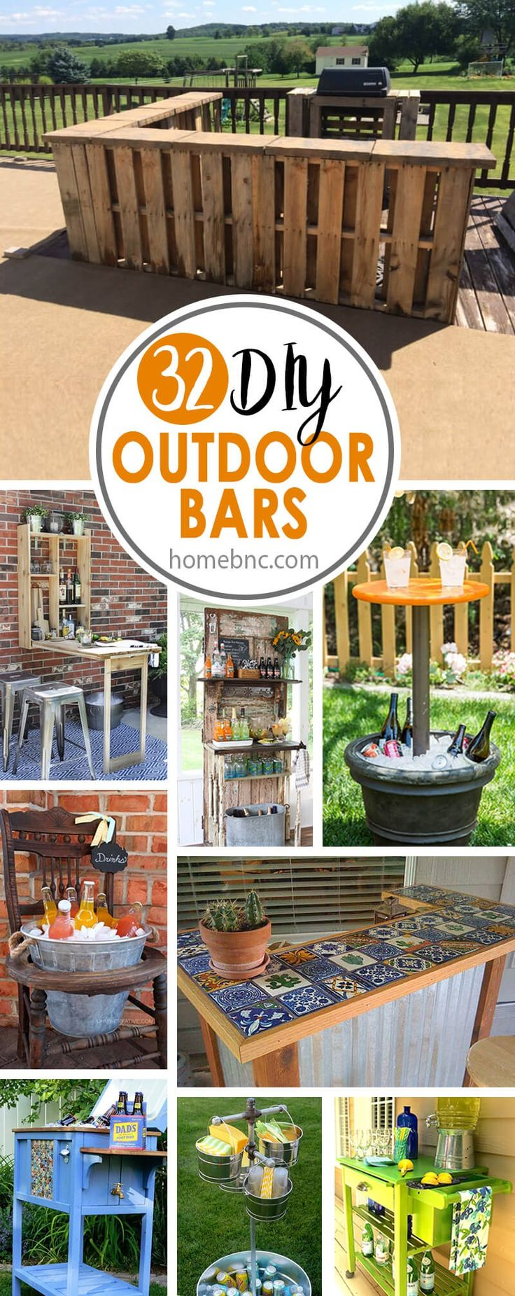 Summer is just around the corner, which means that if you have a backyard, you will want to start entertaining guests outside. One of the issues with the summer heat is keeping drinks cold while you are waiting for dinner to be prepared on the grill. DIY outdoor bars are a great solution to...