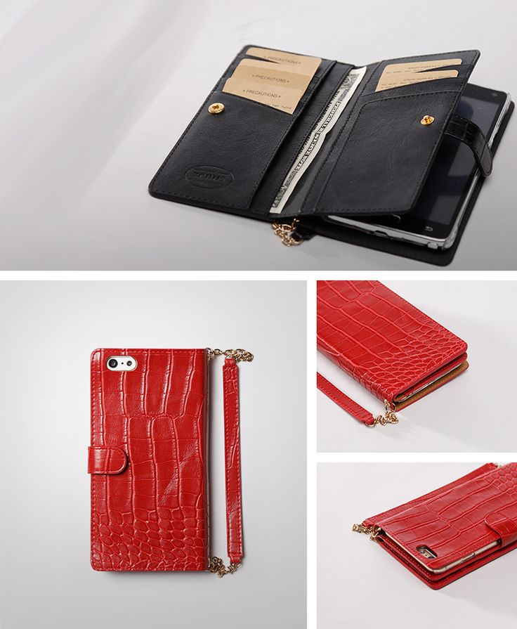 Timeless Style Case ONLY FOR YOU! >> iPhone 6 Plus  http://atree4u.com/product/Zenus-Croco-Wallet-for-iPhone6-Plus/1085/?cate_no=157&display_group=1