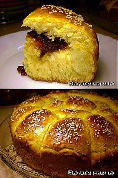 Данубио (итальянские булочки). Автор VikaSN