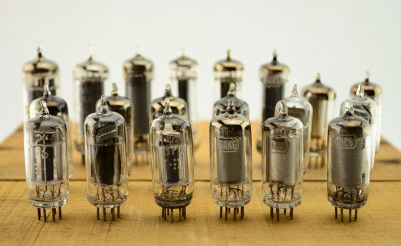 Check out 20 Vintage Vacuum Tubes - Electronic Parts Radio Tubes TV Tubes Amplifier Tubes Industrial Parts Collage Steampunk Art Supply L3 on vintagecornerbazaar