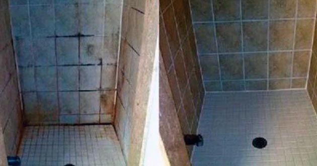 Estupendo remedio casero para dejar los azulejos del baño relucientes y eliminar por completo cualquier tipo de suciedad o bacteria existente en el baño.