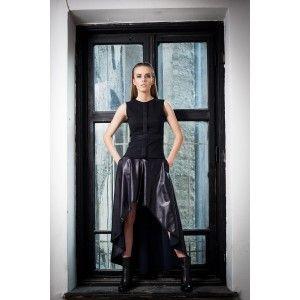 Glamojuice by M.R.Y. - black asymmetrical skirt
