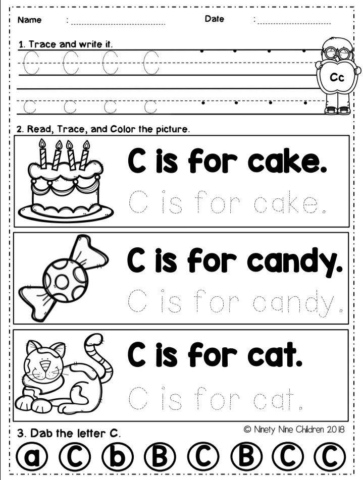 Alphabet Worksheets Alphabet Worksheets Preschool Alphabet Worksheets Sight Words Games Preschool Preschool alphabet worksheets for 2