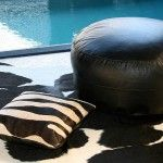 Cowhide cushions and rugs from GingerHouse Online