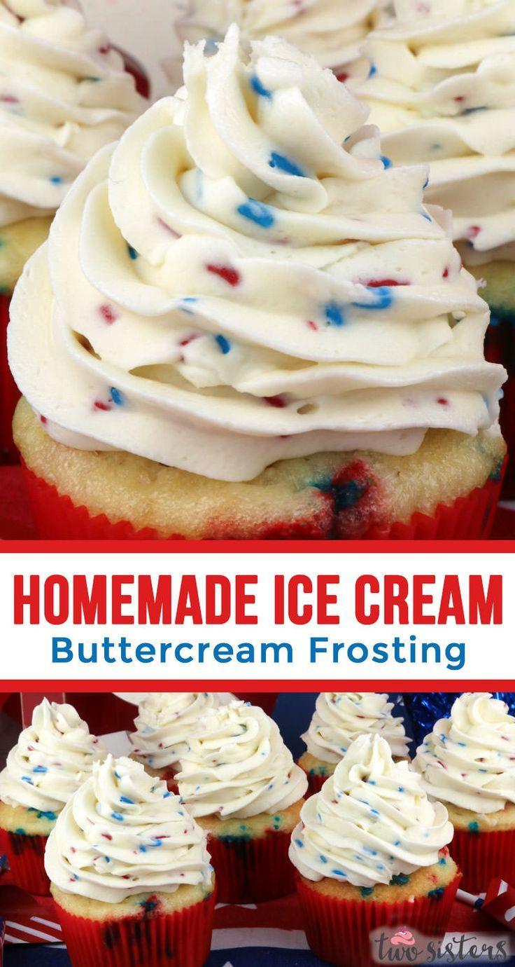 Helado casero Crema de mantequilla Glaseado   – Frosting