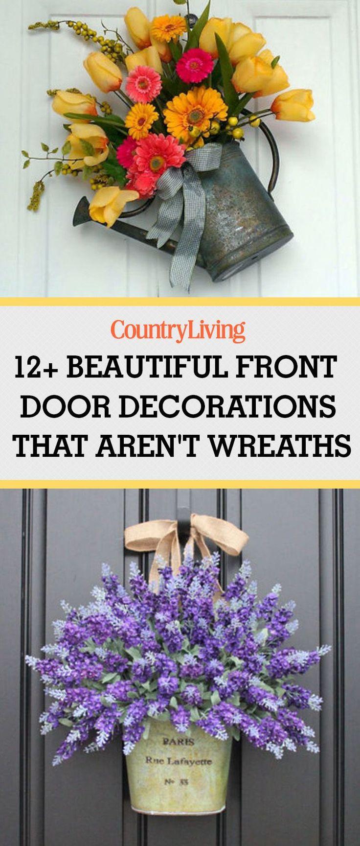 Front Door Decor - Front Door Decorating Ideas