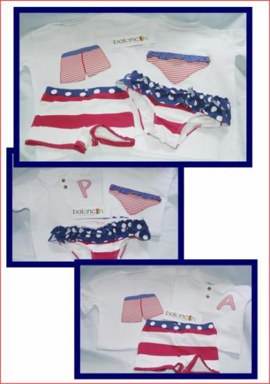 Camiseta personalizada con el nombre y aplicación de bañador. Disponible en blanco y rosa.  Tela a elegir. Bajo encargo. Todas las tallas