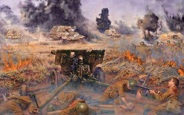 Battle Of Kursk Ww2 German Modern Warfare Army