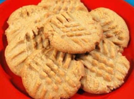 Coconut Flour Peanut Butter Cookies Recipe #food #glutenfree #coconutflour