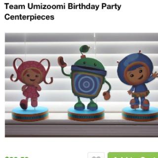 Team Umizoomi Birthday Cake Kit