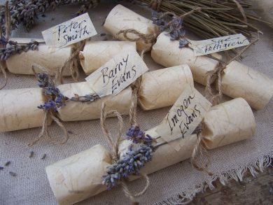Luxury Rustic Christmas Crackers - Froufrou and Thomas