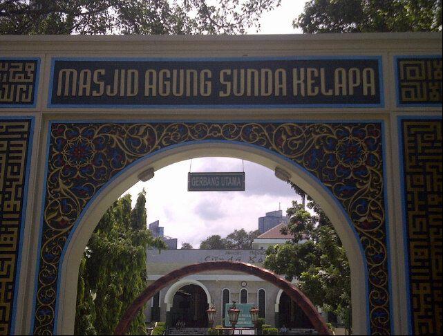 Masjid Agung Sunda Kelapa in Jakarta Pusat, Jakarta