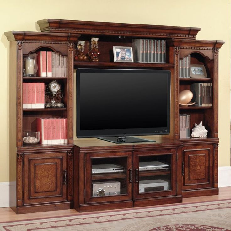 42 best Tv wall units images on Pinterest