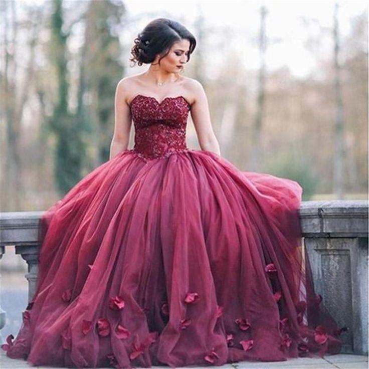 20 best Burgundy Wedding images on Pinterest | Weddings, Short ...